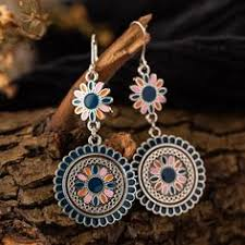 Antique Bell Drop Earrings in 2019 | MyBoholy Accessories ...
