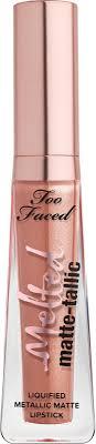 <b>Too Faced</b> Melted Matte-Tallic Liquified Lipstick | Ulta Beauty
