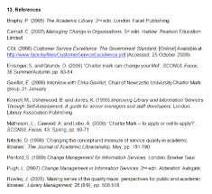 references bibliography