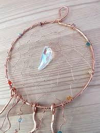 <b>Dreamcatcher</b>, Pure Copper Wire with <b>Crystals</b>, Native, Wall ...