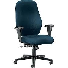 hon hon7803nt90t 7800 series fabric high back office chair with adjustable arms mariner aesthetic hon office chairs