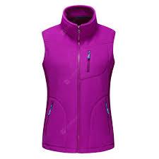 <b>Women</b> Men Full Zip Spring <b>Autumn Winter Vest</b> Fleece <b>Jacket</b> For ...