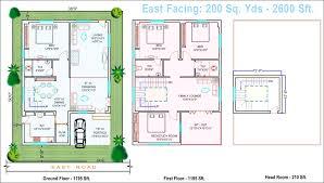 East Facing House Vastu Floor Plans  Floor Plan Per Vastu    East Facing House Vastu Floor Plans