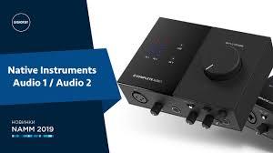 <b>Native Instruments Komplete</b> Audio 1 / Audio 2 - Знакомство с ...
