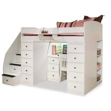 awesome loft beds with stairs and desk 8 space saver loft bed with desk amazing loft bed desk