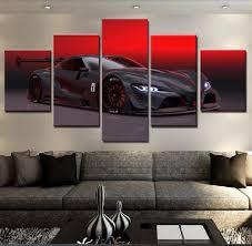 2018 Modern On The <b>Wall</b> Art 5 Panel <b>Modular Pictures</b> For Living ...