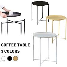 <b>Side table</b> Metal <b>coffee table</b> 53cmx42cm black - HSKKP6776523