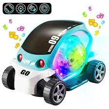 PBOX 3D Electric Toy Cars for Kids with Lights Music ... - Amazon.com