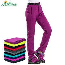 Best Discount #e3f7 - <b>LoClimb</b> Winter Hiking Pants <b>Women</b> Fleece ...