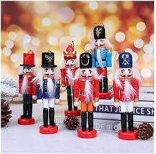 Amazon.co.jp: RCDD Nutcracker Doll <b>Christmas Decoration</b> ...