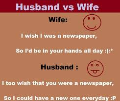 Image result for husband and wife jokes