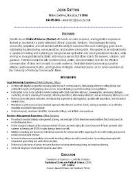 Resume Examples. Internship Resume Objective Examples: resume ... ... Resume Examples, Resume Sample For Political Science Internship With Internship Experience As Legal In Public