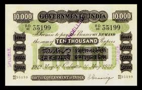 Image result for indian 10000 rupee note image
