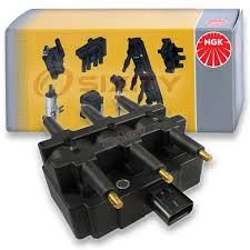 1 pc NGK <b>Ignition Coil</b> for 2007-2011 Jeep Wrangler 3.8L <b>V6</b> - Spark ...