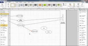 use case diagram using visio   youtubeuse case diagram using visio