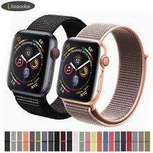 Sport loop For Apple <b>Watch</b> band <b>strap</b> 42mm 38mm iwatch 4 band ...