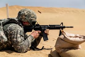 u s department of defense photo essay a u s ier conducts live fire training for the annual weapons qualification near camp buehring