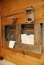 rustic towel rack for your bathroom made of wooden pallets bathroom furniture pallets