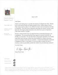 recommendation letters collegians for christ letter 1