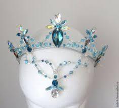 Купить <b>Корона</b> для балета - бирюзовый, голубой, диадема ...