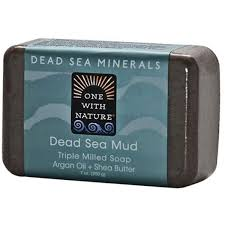 One with Nature, <b>Triple Milled Mineral</b> Soap Bar, Dead Sea Mud ...