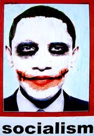Jokers Wild. Have you seen this picture? According to news reports it began showing up on streets and highways in Los Angeles over the past weekend. - ObamaJoker