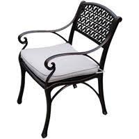Cherise Cast Aluminium Chair <b>Bronze</b> - Rewardia