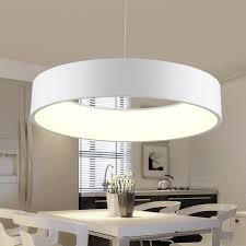 <b>Minimalist</b> Hanging <b>Round</b> Lamp Modern <b>Circle</b> Led <b>Pendant Light</b> ...