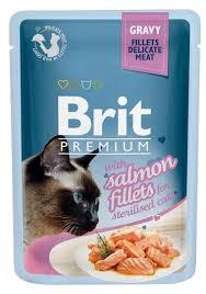 Корм для стерилизованных кошек <b>Brit Premium</b> беззерновой, с ...