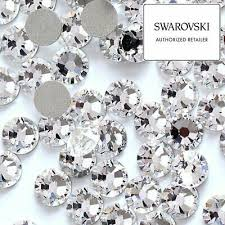 144 pieces Swarovski <b>Crystal</b> Clear (Hotfix / No-Hotfix) Flatback ...