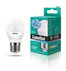 Светодиодная <b>лампочка Camelion</b> LED <b>10W</b> 4500К <b>E27</b>