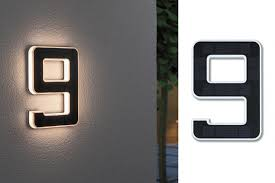 <b>Уличный</b> настенный <b>светильник Paulmann</b> Номер 9 LED 0.2Вт ...
