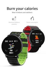 <b>119PLUS</b> Smart Watch Heart Rate <b>Smart Bracelet</b> High-definition ...