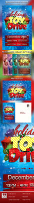 holiday toy drive flyer mailer on behance this holiday toy drive flyer mailer template is customized for any winter or holiday celebration that needs a creative modern marketing package