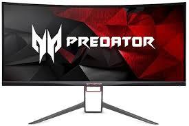 """Купить <b>Монитор</b> игровой <b>ACER Predator X34P</b> 34"""" черный в ..."""