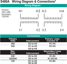 transformer wiring diagram to images phase transformer 411 0081 000 dry transformer 240 x 480 volt primary 120240