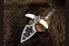 Авторский тычковый <b>нож</b> Push Dagger (<b>сталь х12мф</b>, лосиный ...