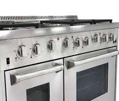 Gas Stainless Steel Cooktop Thor Kitchen Stainless Steel Ranges Stainless Steel Gas Ranges