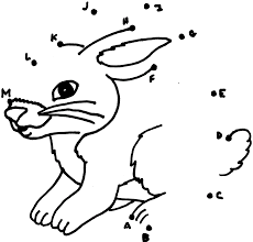 Dot to Dots Worksheets for Kindergarten | Activity Shelterdot to dots rabbit