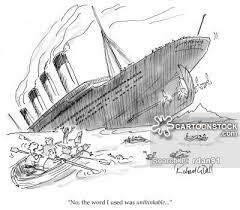 Image result for titanic cartoon