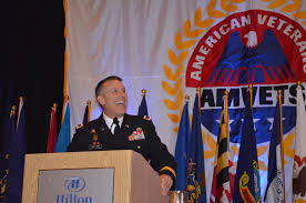 american veteran online convention update friday aug  major general thurgood addresses military to civilian transition