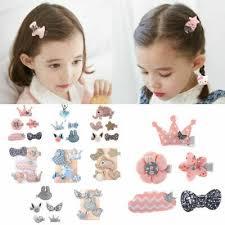 <b>5Pcs</b>/<b>set</b> Cute <b>Hairpin</b> Baby Girl Hair Clip Bow <b>Flower</b> Mini Barrettes ...
