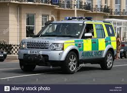 south east coast ambulance service stock photos south east coast south east coast ambulance service range rover paramedic first response vehicle stock image