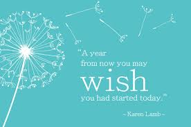 Image result for start doing, stop wishing