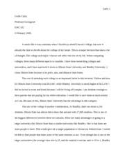 sample compare and contrast essay for collegeleslie curry compare contrast essay eng   jaeyoung park