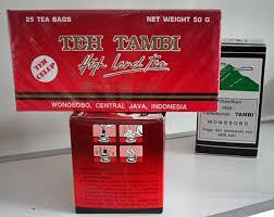 Hasil gambar untuk teh tambi