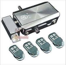 Nsee automatiques <b>HXQ908</b> Porte Serrure Télécommande Loquet ...
