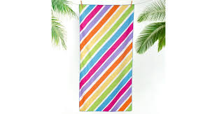 """<b>Пляжное полотенце</b> """"Радужные полосы"""" (<b>70х140</b>) — купить в ..."""