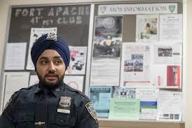 fashion police cops ease rules on tattoos turbans beards 24 2017 photo new york city police officer mandeep singh speaks during an interview the associated press a