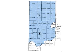 Texas Area Code - 806